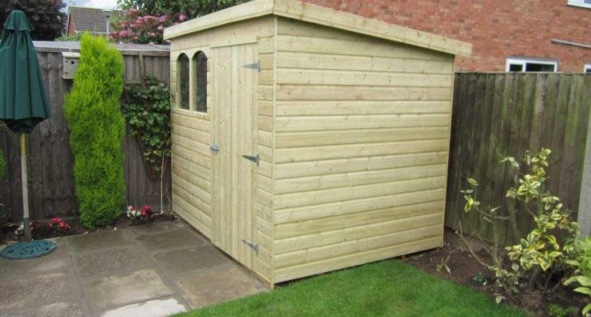Pent Shed Cheshire Sheds Garden