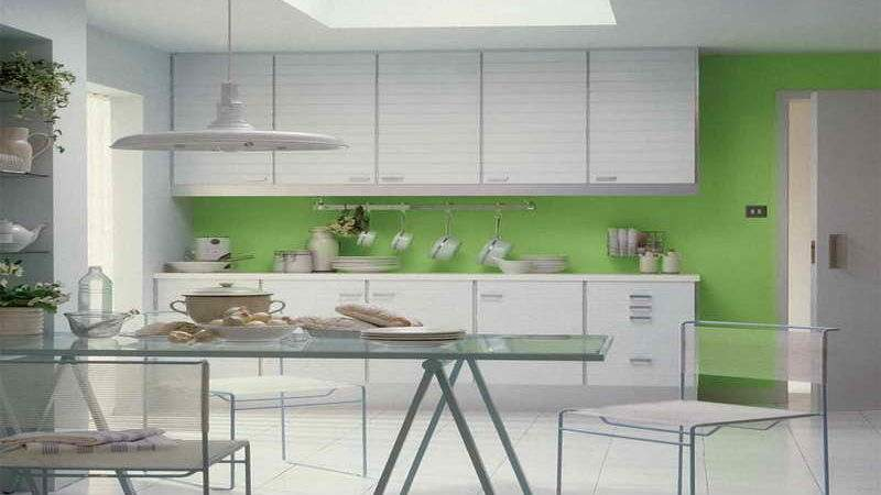 Perfect Green Kitchen Decorating Ideas Upon Home