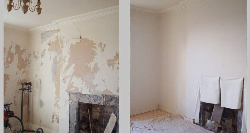 Perfect House Lining Painting Living Room Edinburgh