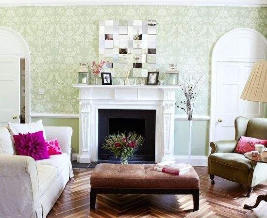 Period Living Room Modern Twist Country