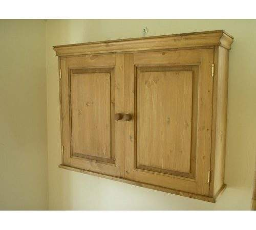 Pine Door Wall Cupboard