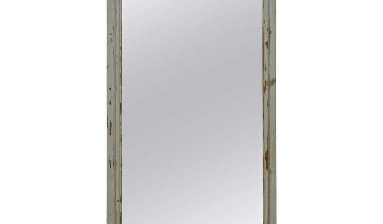 Pine Length Mirror Antique French Panel Sale