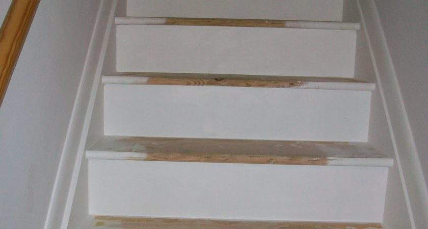 Pine Tree Home Painted Stairs One