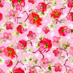 Pink Floral Patterns Freecreatives