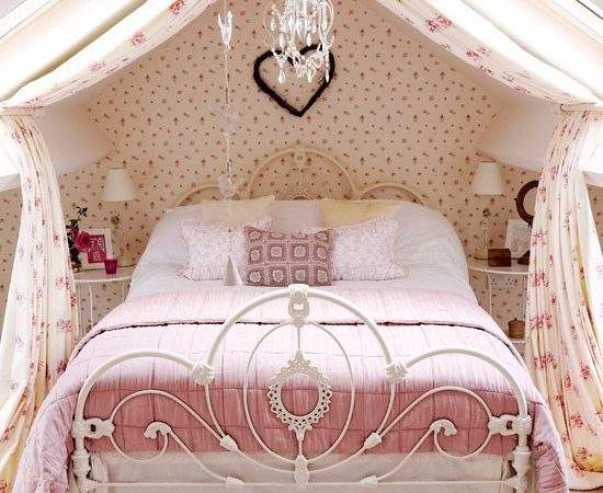Pink Girly Country Bedroom Childrens Room Decorating