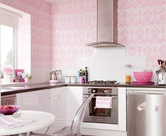 Pink Girly Kitchen Ideas