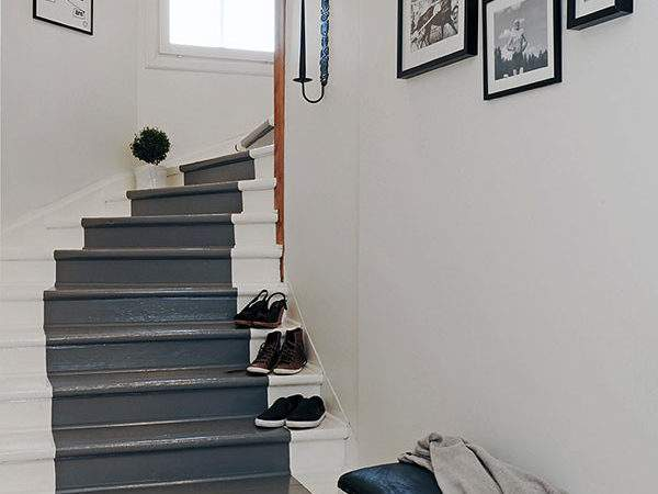 Pinklet Painted Stairs