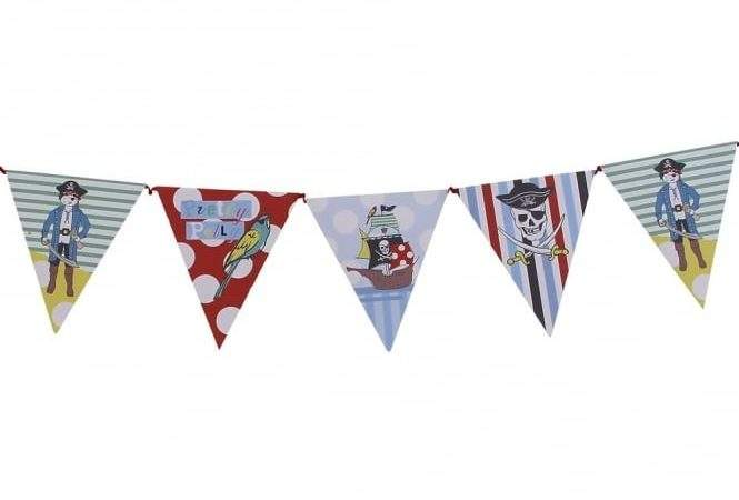 Pirate Party Paper Bunting All Need