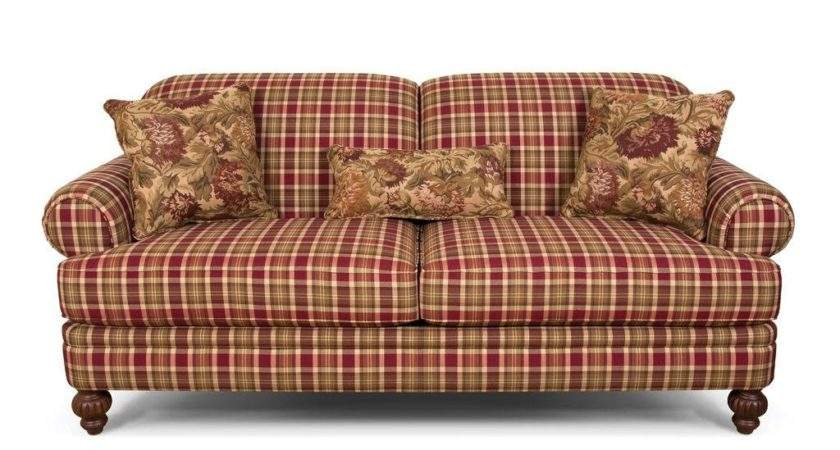 Plaid Sofas Decoration Sofa Thesofa