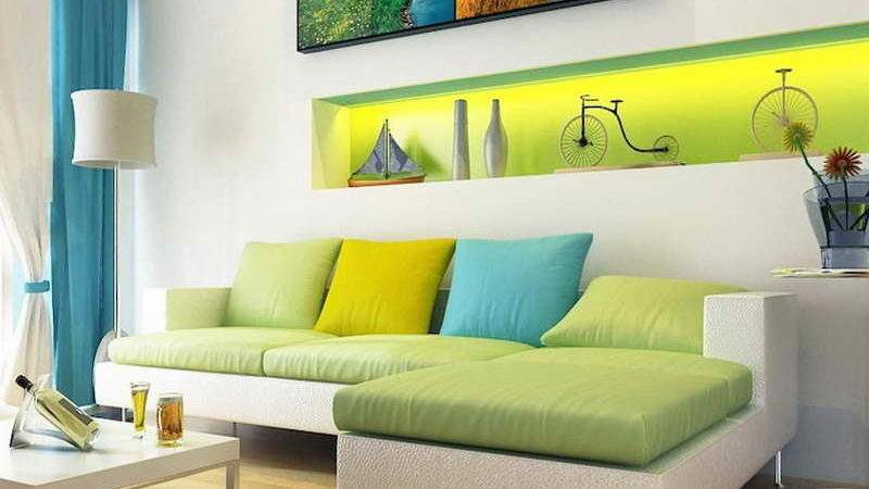 Planning Ideas Analogous Color Scheme Room Green