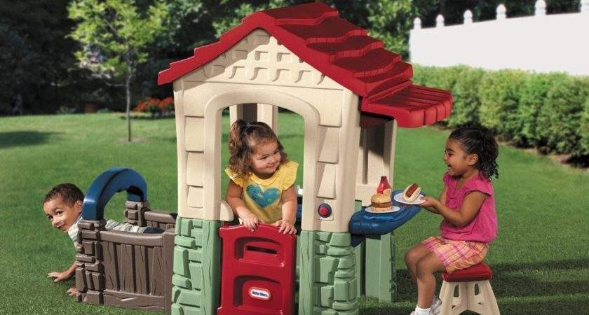 Plastic Indoor Outdoor Playsets Playhouses Toddlers