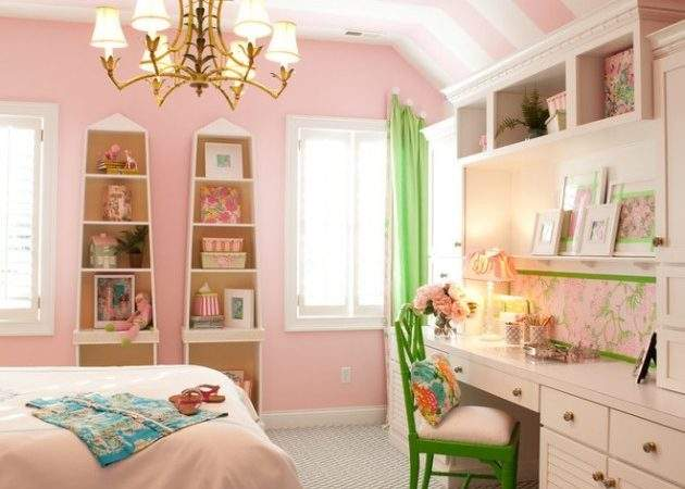 Playful Traditional Girls Room Designs Surprise