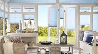 Pleated Conservatory Blinds Thomas Sanderson