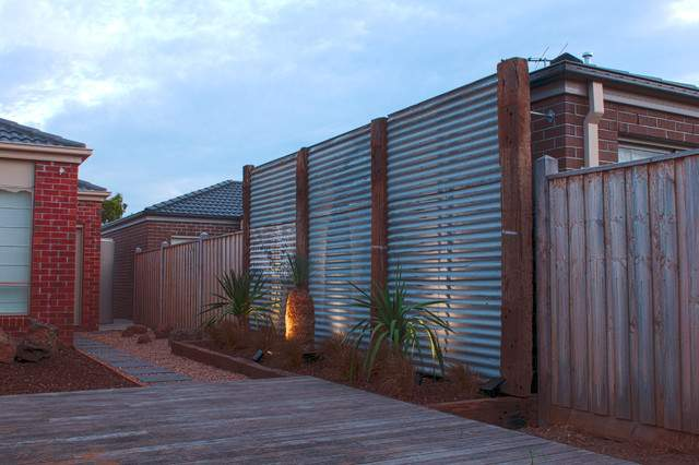 Point Cook Feature Wall Contemporary Landscape