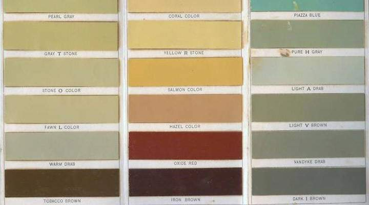 Pompeian Red Paint Color Early Empire