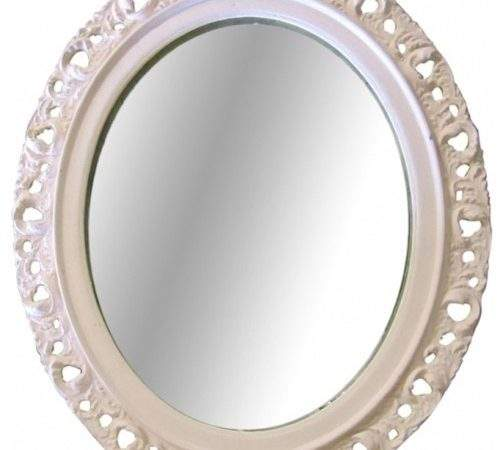 Porcelain Mirror Eclectic Wall Mirrors New York