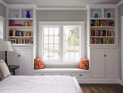 Practical Storage Solutions Small Bedrooms Interior