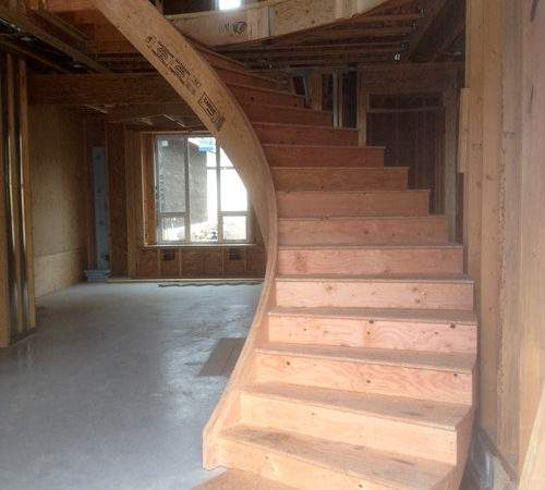 Prefab Construction Grade Stairs Plytech