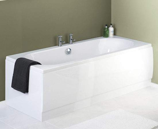 Premier Acrylic Front Bath Panel White