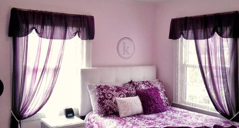 Pretty Purple Teen Bedroom Exquisitely Unremarkable