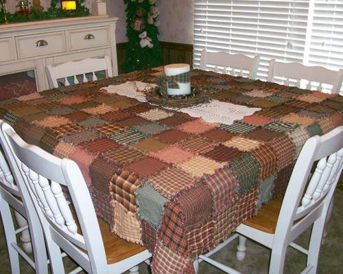 Primitive Tablecloth Jubilee Homespun Projects
