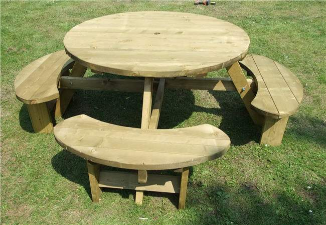 Pub Picnic Benches Round Tables Excalibur