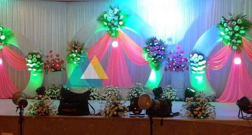 Puberty Manjal Neerattu Vizha Function Decoration