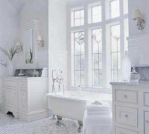 Pure Design White Bathroom Ideas Modern House
