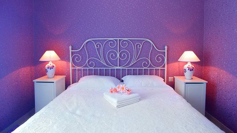 Purple Bedroom Designs Decor Designing Idea