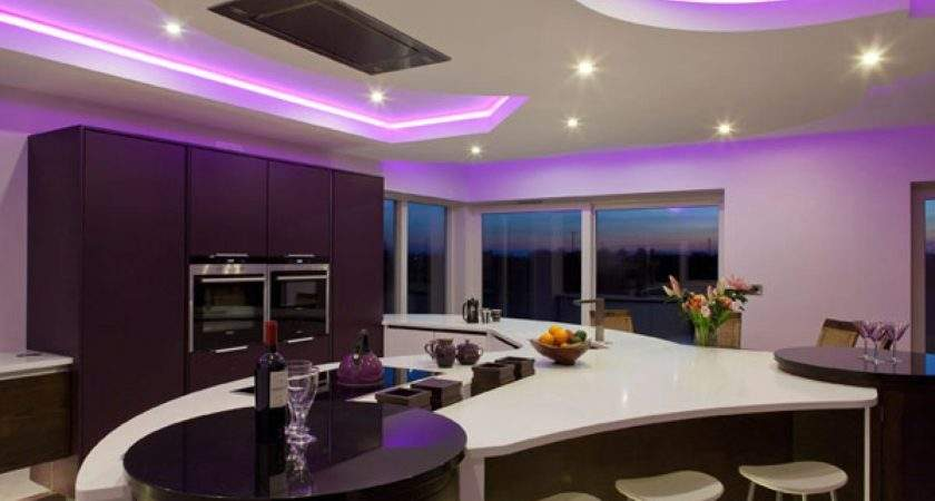 Purple Kitchen Decorating Ideas Kitchentoday