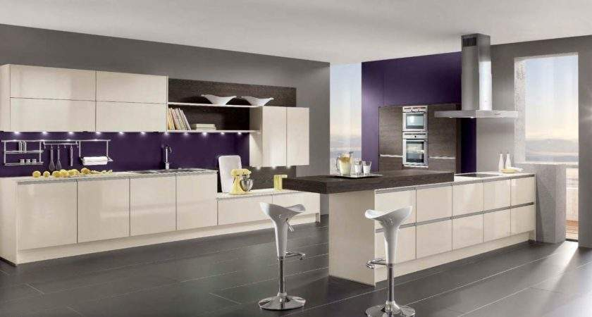 Purple Kitchen Ideas Designed Feminine Style Home