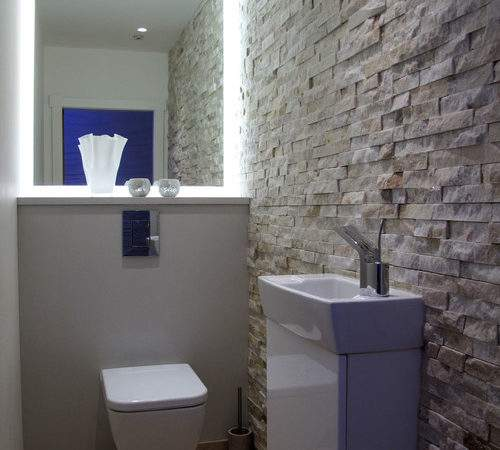 Put Walls Downstairs Toilet Have