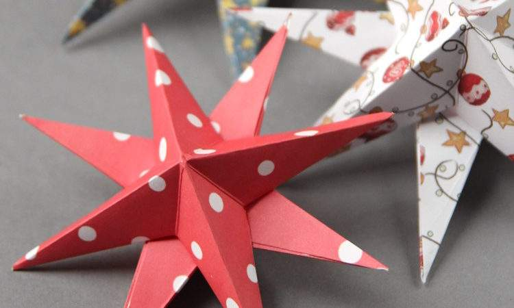 Quick Easy Diy Paper Christmas Decorations