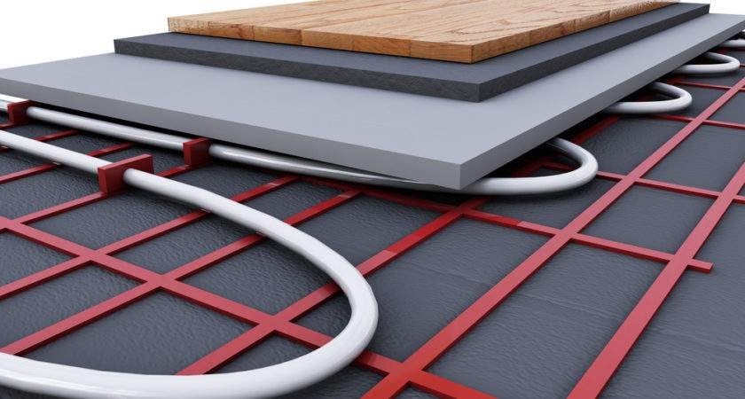 Radiator Heating Underfloor