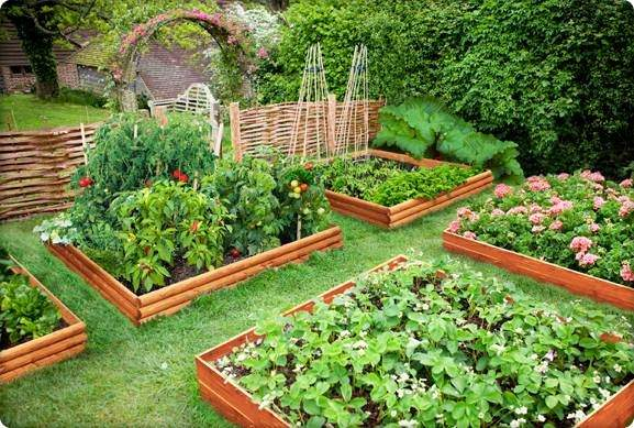 Raised Bed Beautiful Small Home Gardens