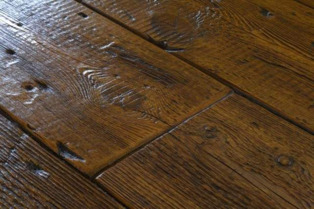 Real Reclaimed Wood Flooring
