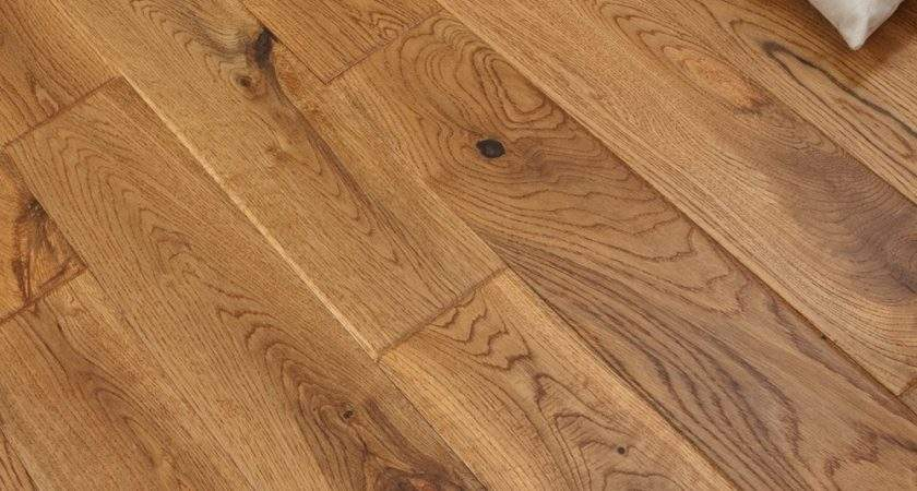 Real Wood Flooring Solid Oak Vintage Hand Scraped