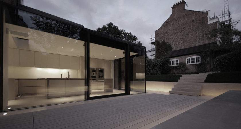 Rear House Extension Garden Design Lbmv