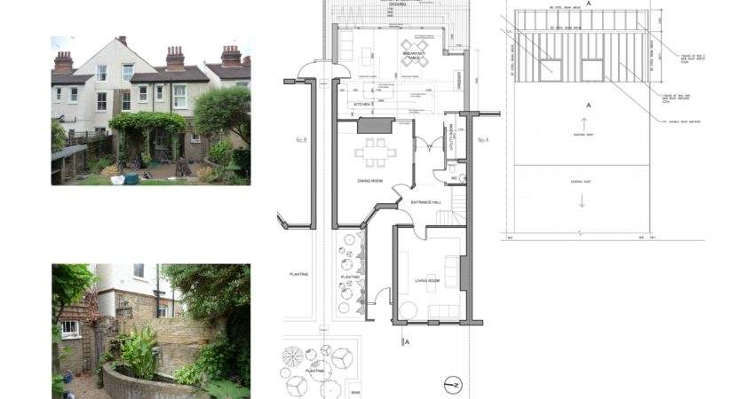 Rear House Extension Plans Home Design Style
