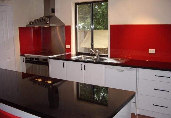 Red Black Kitchen Designs Home Design