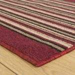 Red Stripe Hallway Carpet Runner Primos