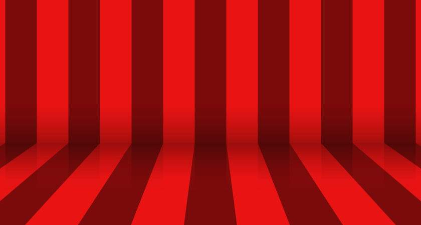 Red Stripes Abstract