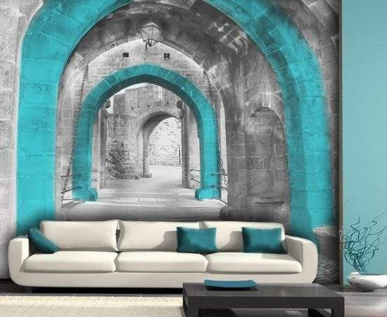 Refreshing Wall Mural Ideas Your Living Room