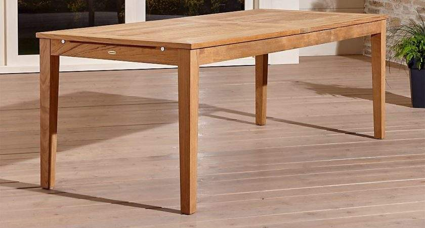 Regatta Extension Dining Table Crate Barrel