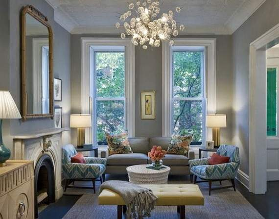 Relaxing Living Room Designs Garden Ambiance