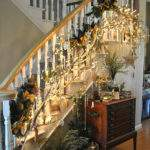 Renew Redo Christmas Decorations Stairs