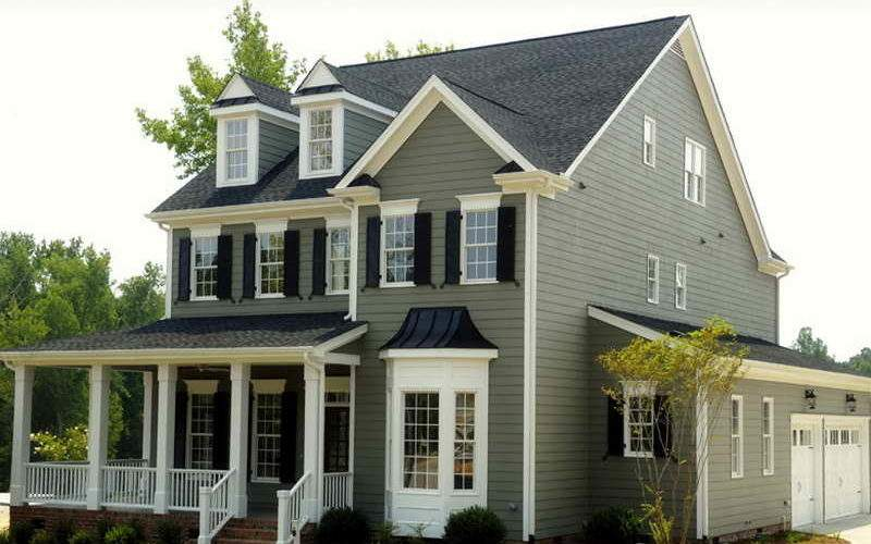 Repair Cool Exterior Paint Color Choosing