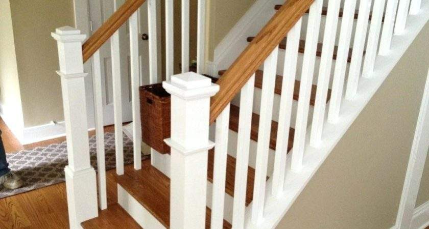 Replace Stair Railing Cost Install