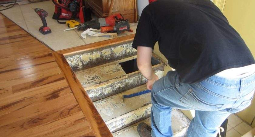 Replace Stair Treads Staircase Part Youtube