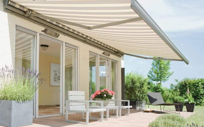 Retractable Awnings Homes Garden Appeal Home